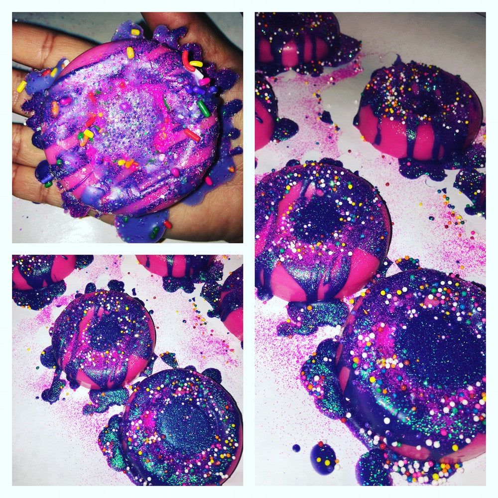 Unicorn Barf Wax Melt Donut