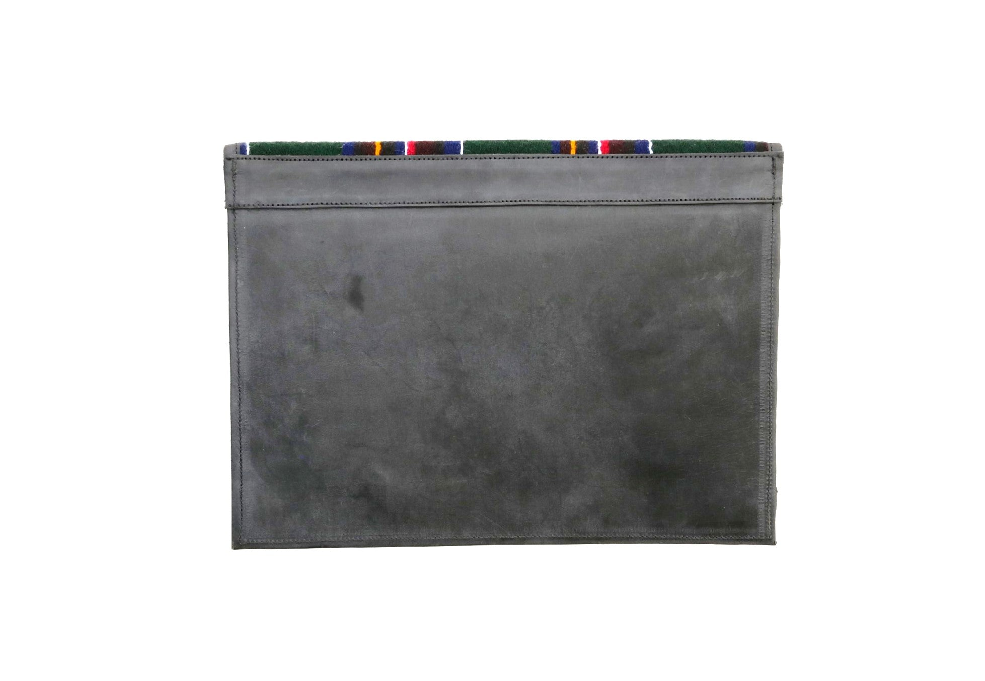Kyirong Green Envelope Clutch