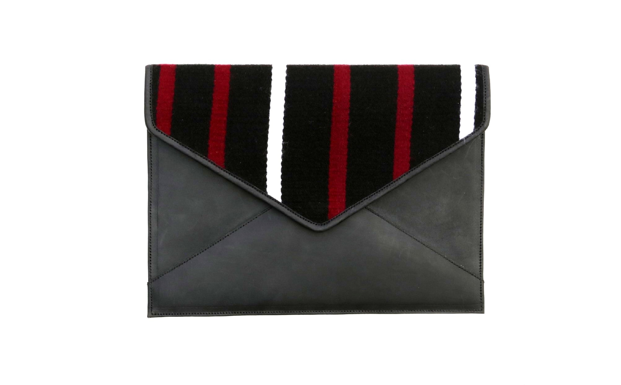 Kyirong Black Envelope Clutch