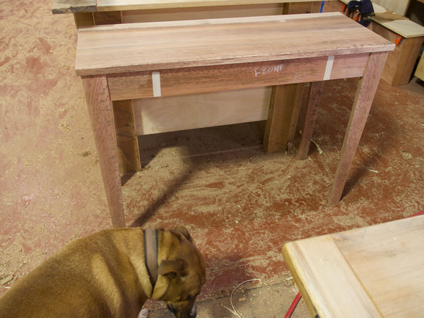 Tiger Myrtle Drawer waiting to be Sprayed