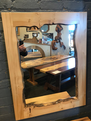 Solid Timber framed mirrors Selection of Four to choose from : Huon Pine and Blackheart Sassafras