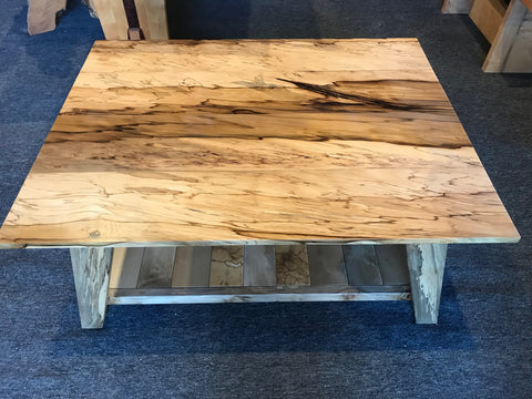 Blackheart Sassafras Coffee Table with Rainbow feature SOLD