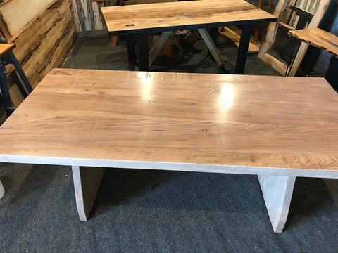 Tasmanian grown English Elm table