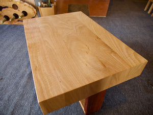 Fiddleback Tas Oak & Blackwood Coffee Table