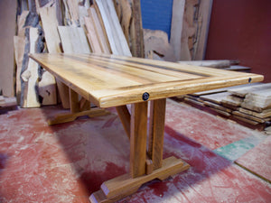 Rustic Tas Oak Table