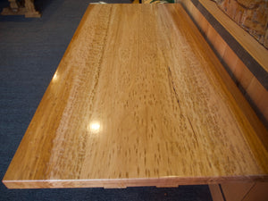 Tasmanian Oak Birds Eye Dining Table