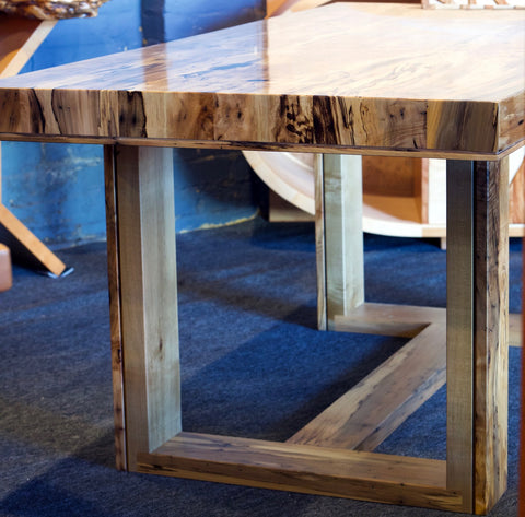 Spalted Blackheart Sassafras Contemporary Desk/Table SOLD CAN BE RE-ORDERED