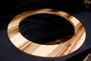 Blackheart Sassafras Circular Mirror - Distinctive Furniture Tasmania
