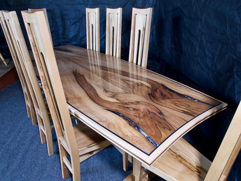 "Blackheart Sassafras ""Aquilla"" Dining Table [SOLD]"