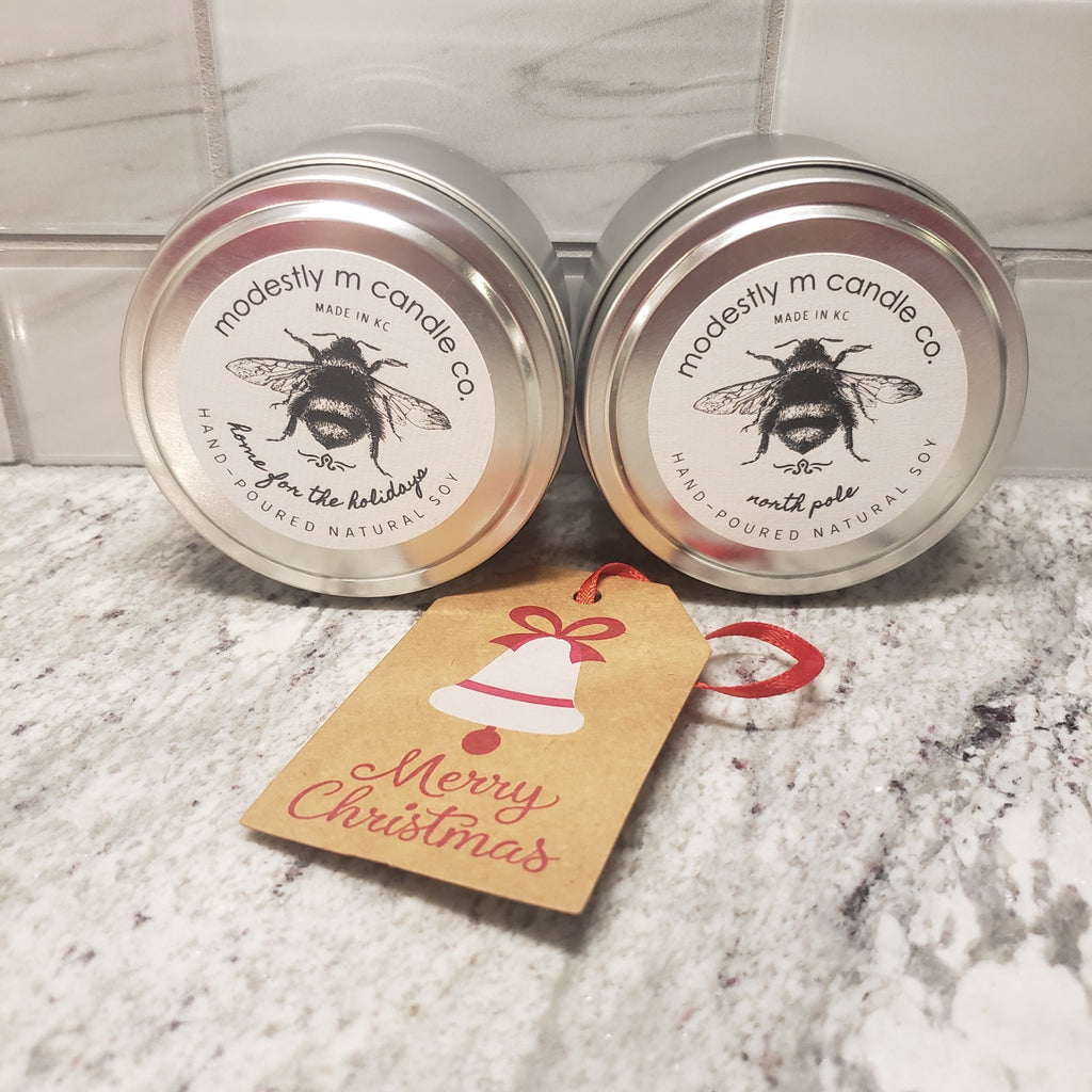 holiday tins - 2 pack