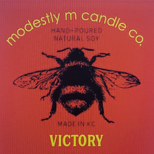 VICTORY  11oz straight sided candle