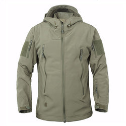 Men's Tactical Shark Skin Jacket (Waterproof/Windproof) - Doctor Doomsday Survival Co.