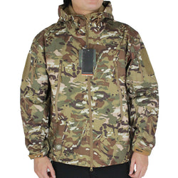 Men's Tactical Camouflage Softshell Jacket