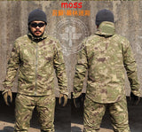 Men's Tactical Outdoor Survival Hoodie Jacket and Pant - Doctor Doomsday Survival Co.