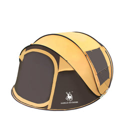 3-4 person automatic throwing pop up tent (windproof/waterproof) - Doctor Doomsday Survival Co.