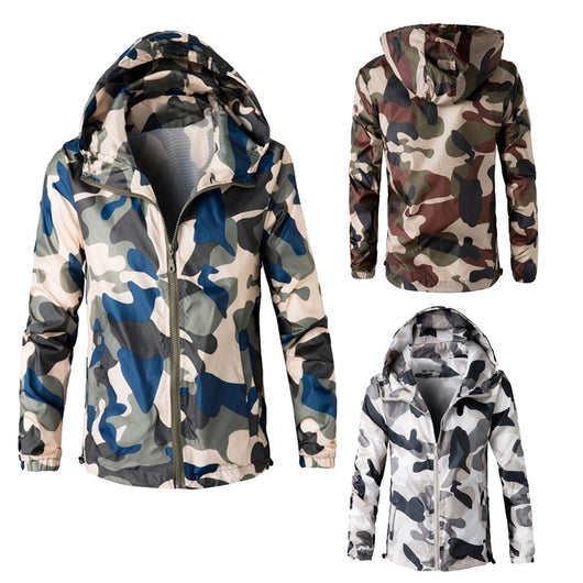 Men's Hooded Winter Camouflage Coat - Doctor Doomsday Survival Co.