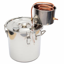 Water & Alcohol Distiller-Still 18L Copper - Doctor Doomsday Survival Co.