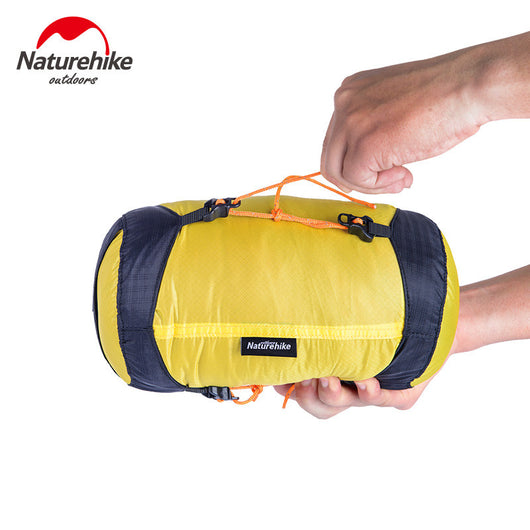 NatureHike Outdoor Camping Sleeping Bag Pack Compression Stuff Sack 20D Nylon Silicon Waterproof Storage Carry Bag M L XL