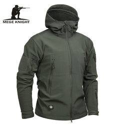 Men Tactical Sharkskin Jacket - Doctor Doomsday Survival Co.