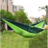 Multi-color Single Person Hammock (Parachute Fabric) - Doctor Doomsday Survival Co.