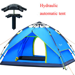 Special hydraulic automatic quick open 3-4 person tent - double layer - Doctor Doomsday Survival Co.