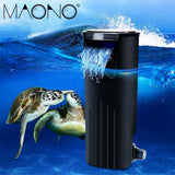 MAONOMini Aquarium Filter Waterfall Hang Turtle Fish Tank Filter Water Purifier Internal Filtration Submersible Oxygen Pump Hot - Doctor Doomsday Survival Co.