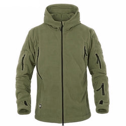 Men's Fleece Polartec Thermal Softshell Jacket - Doctor Doomsday Survival Co.