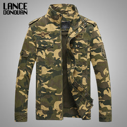 Men's Tactical Camouflage bomber jacket - Doctor Doomsday Survival Co.