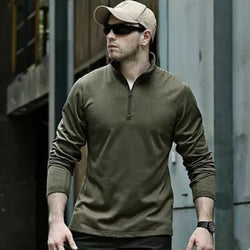 New Men's Tactical Fleece Sweater (Kwik-Dry Technology) - Doctor Doomsday Survival Co.