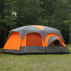 12  person 2 bedroom 1 living room waterproof outdoor camping tent - Doctor Doomsday Survival Co.