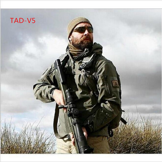 AD V 5.0 Military Tactical Jacket (Waterproof/Windproof) - Doctor Doomsday Survival Co.