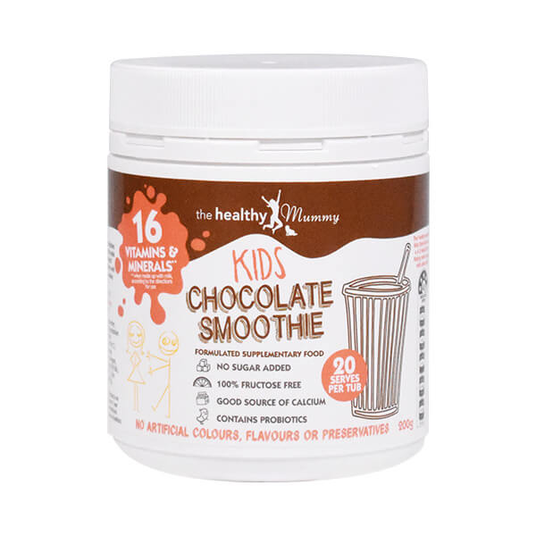 The healthy mummy kids chocolate smoothie