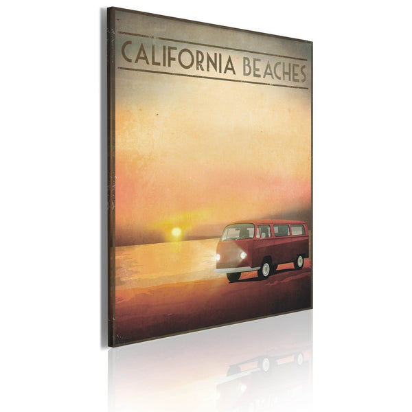 Quadro - California beaches