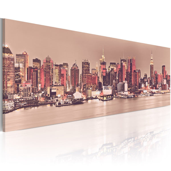 Quadro su tela - New York - City of Light
