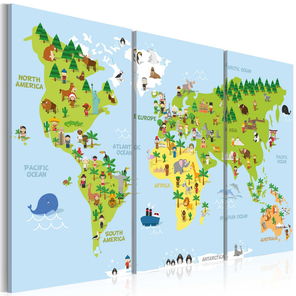 Quadro - Children's World