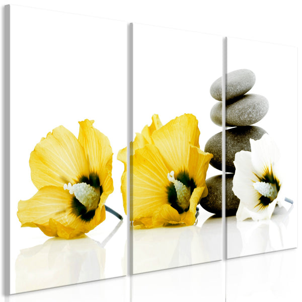 Quadro - Calm Mallow (3 Parts) Yellow