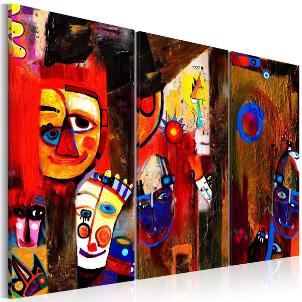 Quadro dipinto a mano - Abstract Carnival
