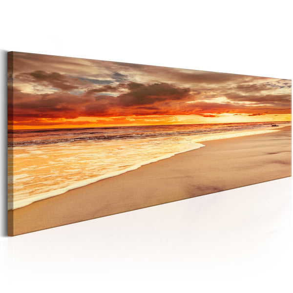Quadro moderno su tela - Beach: Beatiful Sunset