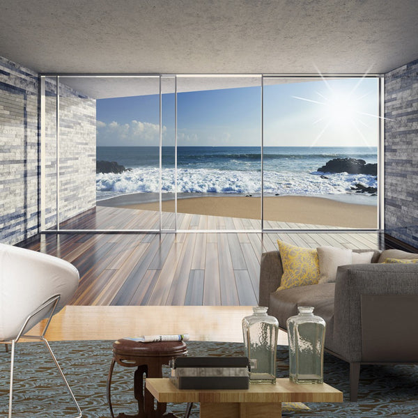 Carta da parati 3D - The Sea House