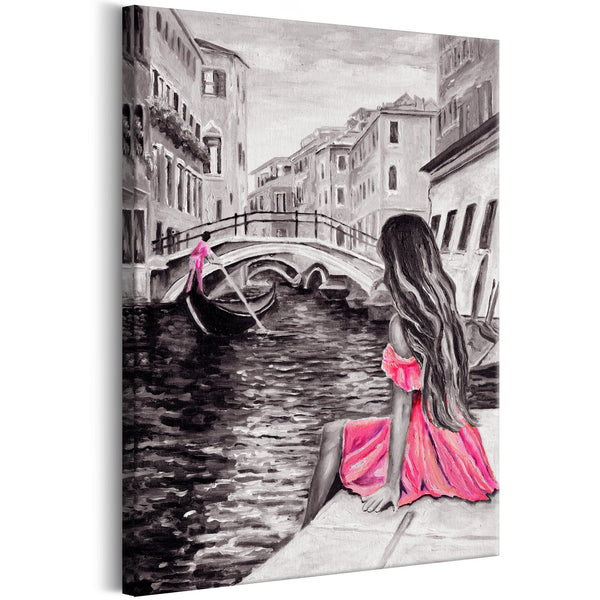 Quadro - Woman in Venice (1 Part) Vertical