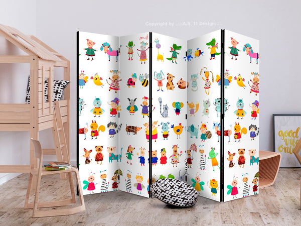Separè per interni - Cartoon Pets II [Room Dividers]