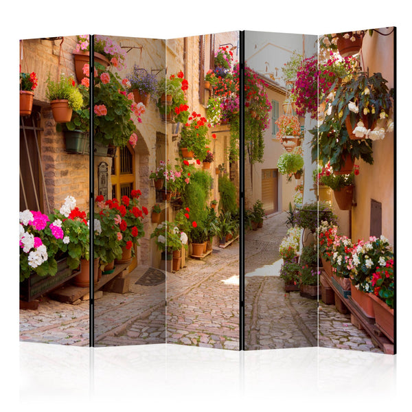 Paravento - The Alley in Spello (Italy) II [Room Dividers]