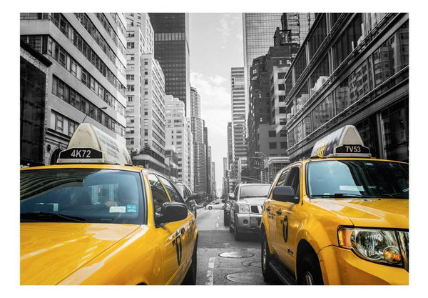 Carta da parati - New York taxi