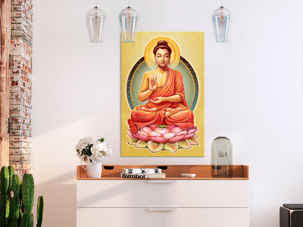 Quadro - Peace of Buddha (1 Part) Vertical