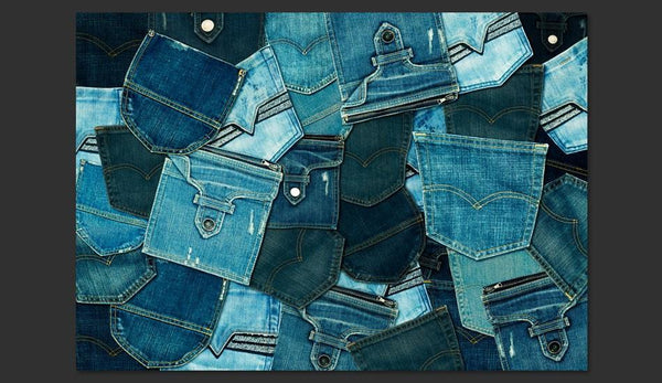 Carta da parati - Jeans Pockets