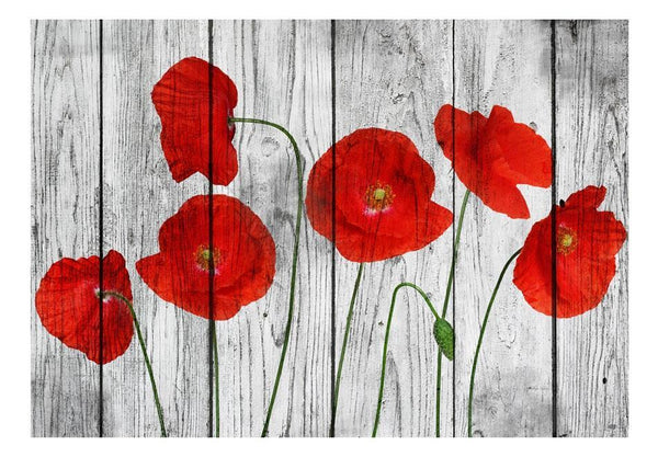 Carta da parati - Tale of Red Poppies