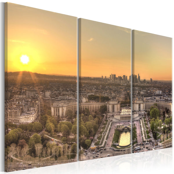 Quadro - View from Eiffel Tower (3 Parts)
