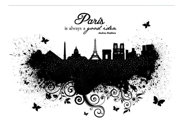 Carta da parati - Paris is always a good idea