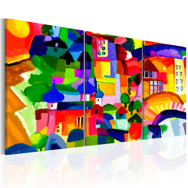 Quadro - Colourful Town