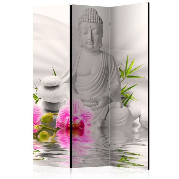 Separè per interni - Buddha and Orchids [Room Dividers]